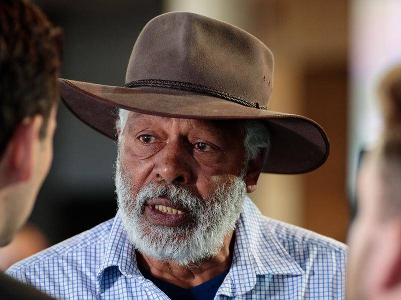 Indigenous actor Ernie Dingo